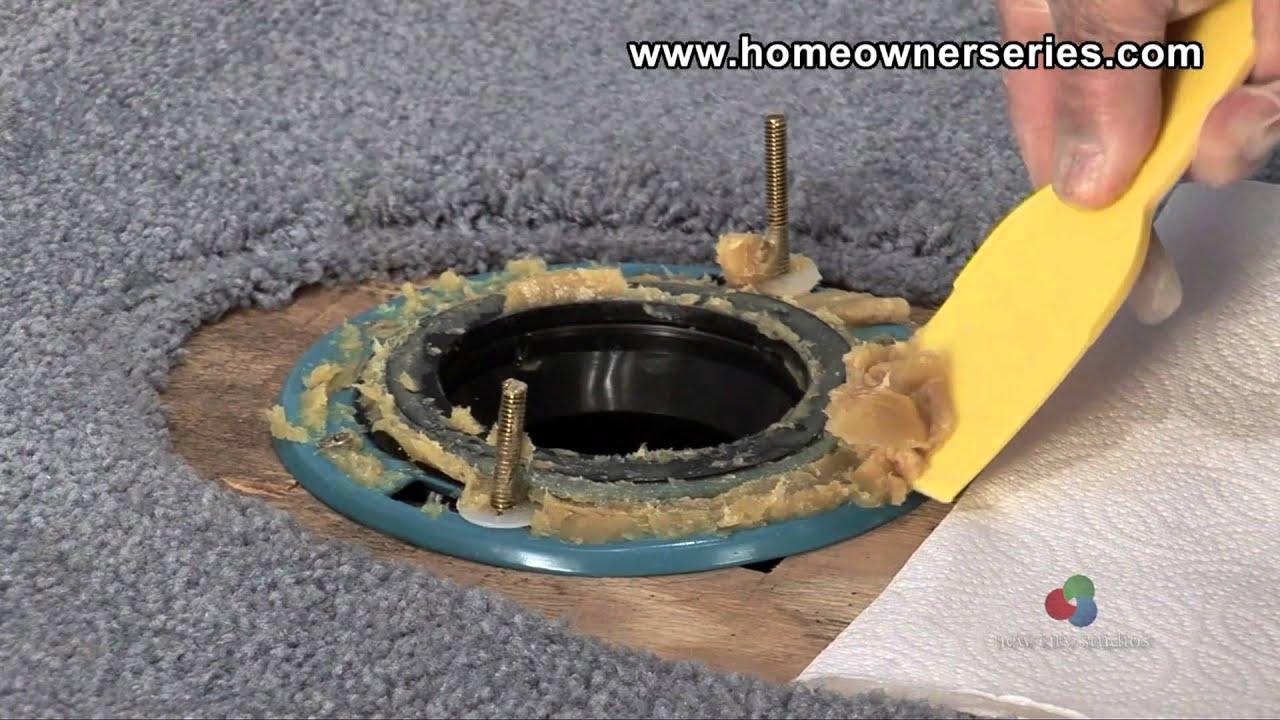 How to Fix a Toilet - Diagnostics - Leaking Base - YouTube