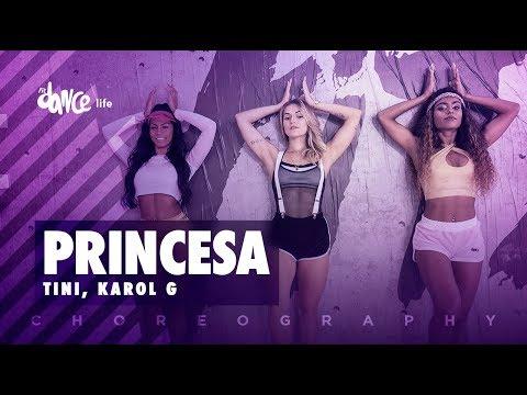 Princesa - Tini, Karol G | FitDance Life (Coreografía) Dance Video