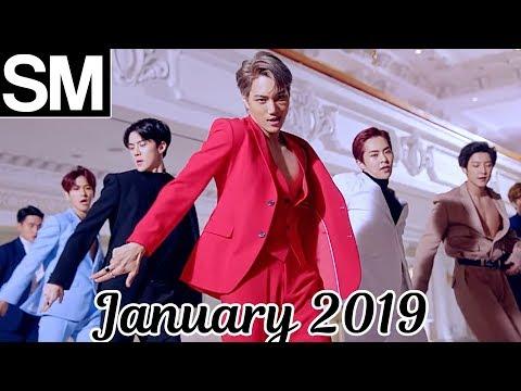 [TOP 100] Most Viewed SM Kpop MVs [January 2019]