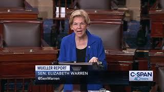 Sen. Elizabeth Warren on Impeachment (C-SPAN)