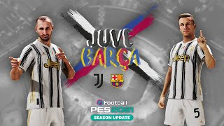 🎮? Juventus vs Barcelona   eFootball PES 2021 Friendly Match   ESPORTS