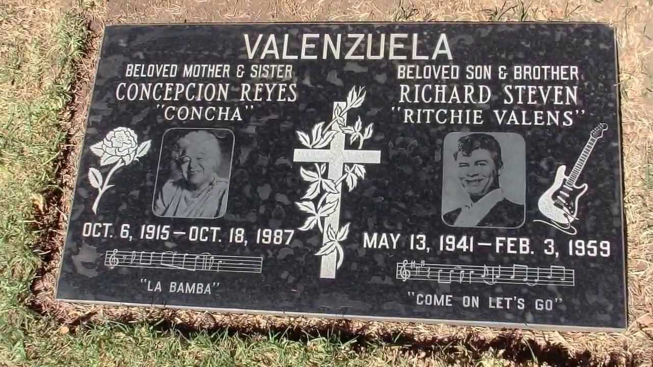 Ritchie Valens final resting place - YouTube