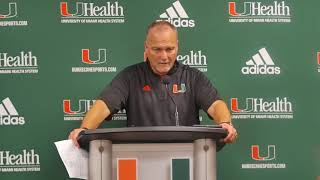 Mark Richt | Post Game Presser vs Notre Dame | 11.11.17