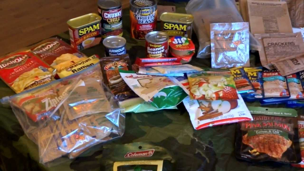 Camping-Backpacking / Survival Food Ideas And Overview