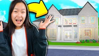 MY ROBLOX BLOXBURG SECRET MANSION TOUR!!