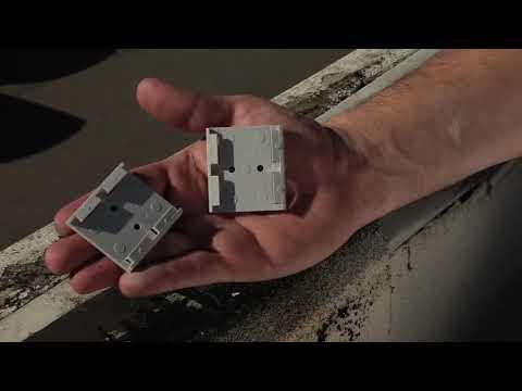 Bird Jolt Flat Track™ instalación esquinas y conectores