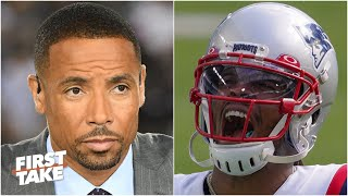 First Take reacts to Rodney Harrison saying Cam Newton 'can't play football anymore'