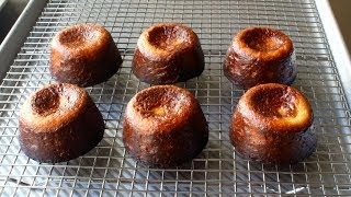 Canelé de Bordeaux - Crispy Baked French Custard Cakes - How to Make Canelés