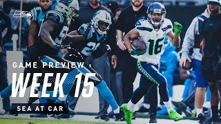 2019 Week 15: Seahawks at Panthers Preview