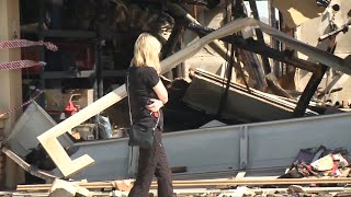 'I'm just glad my family is OK': residents return to burnt houses in California