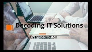 Decoding IT Solutions - Company Profile