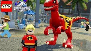 O INCRÍVEL DINOSSAURO DO FLECHA DE OS INCRÍVEIS no LEGO Jurassic World Criando Dinossauros #62