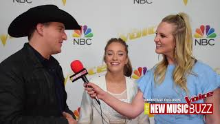 THE VOICE EXCLUSIVE BACKSTAGE COVERAGE - TEAM KELLY