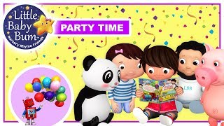Little Baby Bum Party Song | LBB | Little Baby Boogie | Nursery Rhymes For Babies