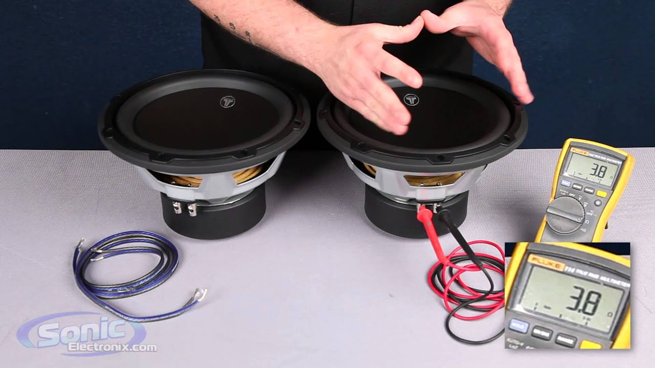 maxresdefault  Ohm Single Voice Coil Wiring Diagram Wired To Ohms on