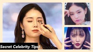 Celebrity Makeup Artist Transforms Me into Jennie & Chungha | K-beauty