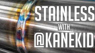 🔥 TIG Welding Stainless Steel with @kanekid