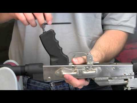 ATI AK-47 Scorpion Grip Installation