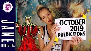 💥PICK-A-CARD💥October 2019 Predictions