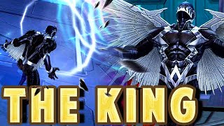 NEW BLACK BOLT CRAZY & HIDDEN 5TH SKILL EFFECT - Marvel Future Fight