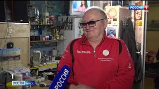 В Омске пенсионер уже три года живет в гараже