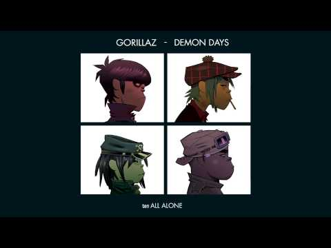 Gorillaz - All Alone - Demon Days
