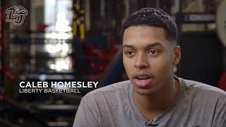 Caleb Homesley, LU Men's Basketball