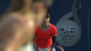 Highlights: WTA R3 - Svitolina d. McHale