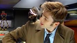 AWW! David Tennant & A Basket of Kittens | Doctor Who Confidential Series 3 | Doctor Who | BBC