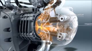 BMW R 1200 GS Engine in slow motion