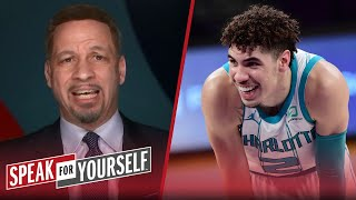 Chris Broussard defends LaMelo Ball being 3rd on NBA best under-25 list | NBA | SPEAK FOR YOURSELF