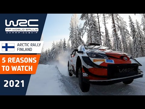 TOP 5 reasons to watch WRC Arctic Rally Finland Powered by CapitalBox