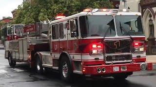 Brand New Fire Trucks Responding In 2018 Compilation