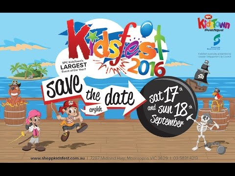 KidsFest 2016 at Kidstown - Greater Shepparton