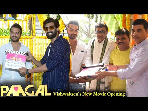 Vishwaksen's New Movie Opening
