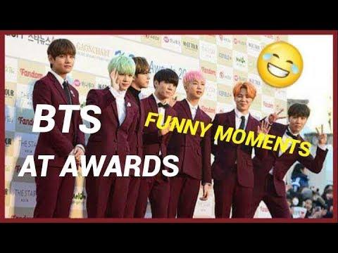 BTS funny moments at awards