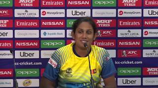 LIVE: WT20 - Sri Lanka v Bangladesh - Post Match Press Conference