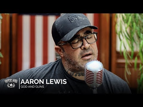 Aaron Lewis - God and Guns (Acoustic) // Country Rebel HQ Session