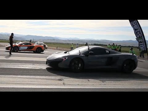 McLaren 650S races another McLaren 650S at Shift-S3ctor Coalinga 2016