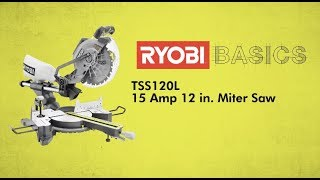 Video: 12 IN. Sliding Compound Miter Saw with Laser