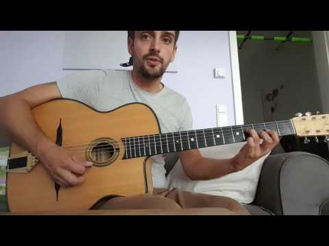 proper gypsy jazz chords to Coquette