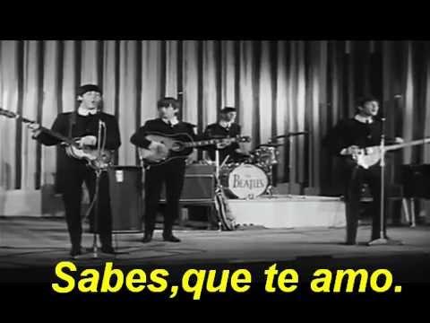 The beatles love me do subtitulado español