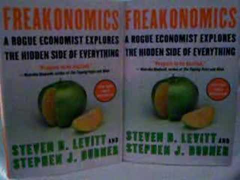 Freakonomics chapter 1 essay
