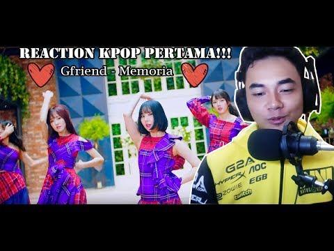 React Kpop pertama di YouTube gua - GFRIEND - MEMORIA MV (Reaction) - Indonesia