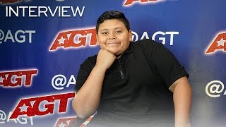 Interview: Luke Islam Recalls His Iconic Golden Buzzer Moment! - America's Got Talent 2019