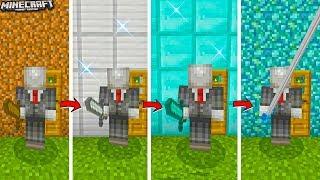NẾU SLENDERMAN SỞ HỮU CÂY KIẾM KHỔNG LỒ,GIẢI CỨU EM TRAI TRONG MCPE   Cuộc Sống Minecraft PE