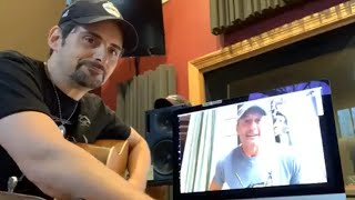 Brad Paisley's Epic Singalong with Tim McGraw and Carrie Underwood While Quarantined