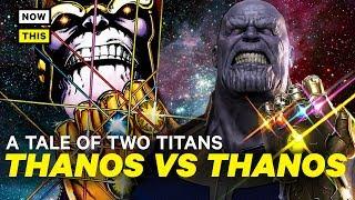 Movie Thanos vs. Comic Thanos: A Tale of Two Titans   NowThis Nerd