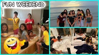 "FUN WEEKEND "" BEACH HOUSE "" | SISTERFOREVERVLOGS #578"