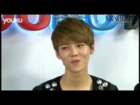 [120412] Luhan's non existing aegyo @youku interview